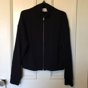 Wilfred Free bomber style zipper cardigan